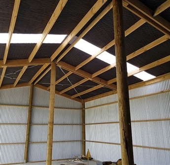 Intermediate Pole Shed