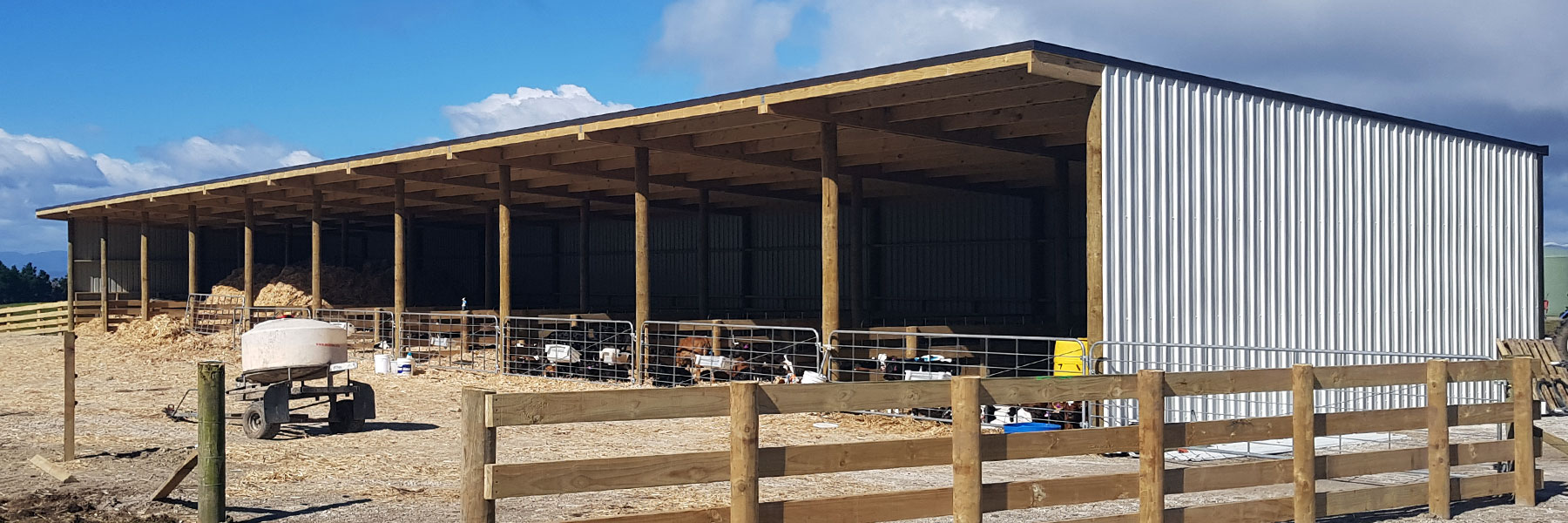 Dairy Sheds | Farm Sheds| CPS Services