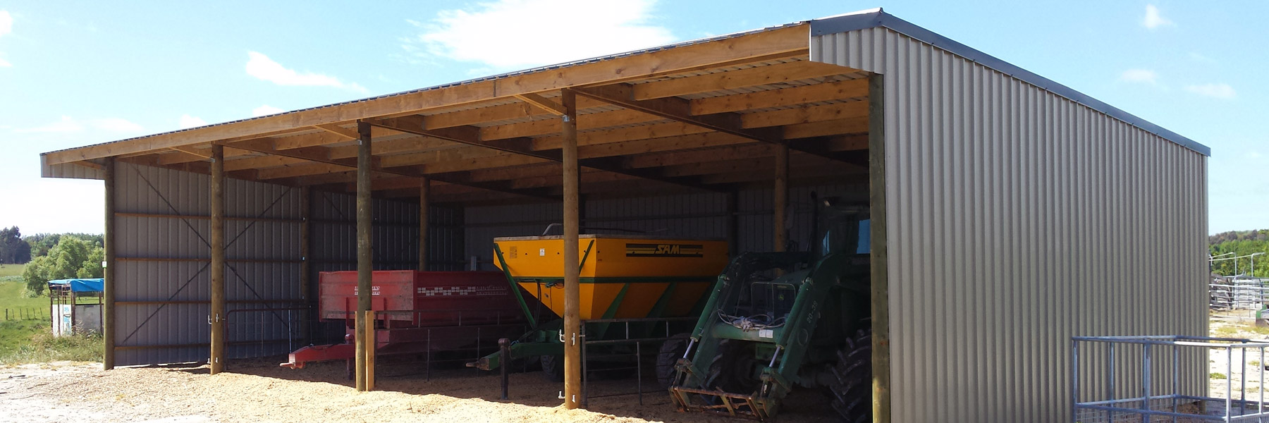Machinery Sheds - CPS Services